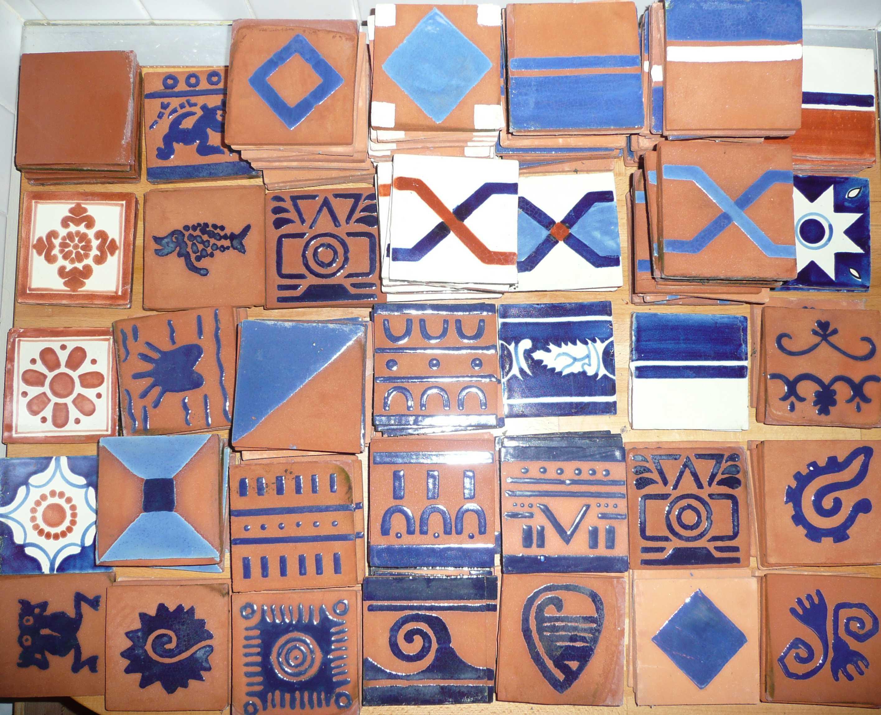 Mexique tous les tages le blog for Salle de bain moitie carrelage moitie peinture
