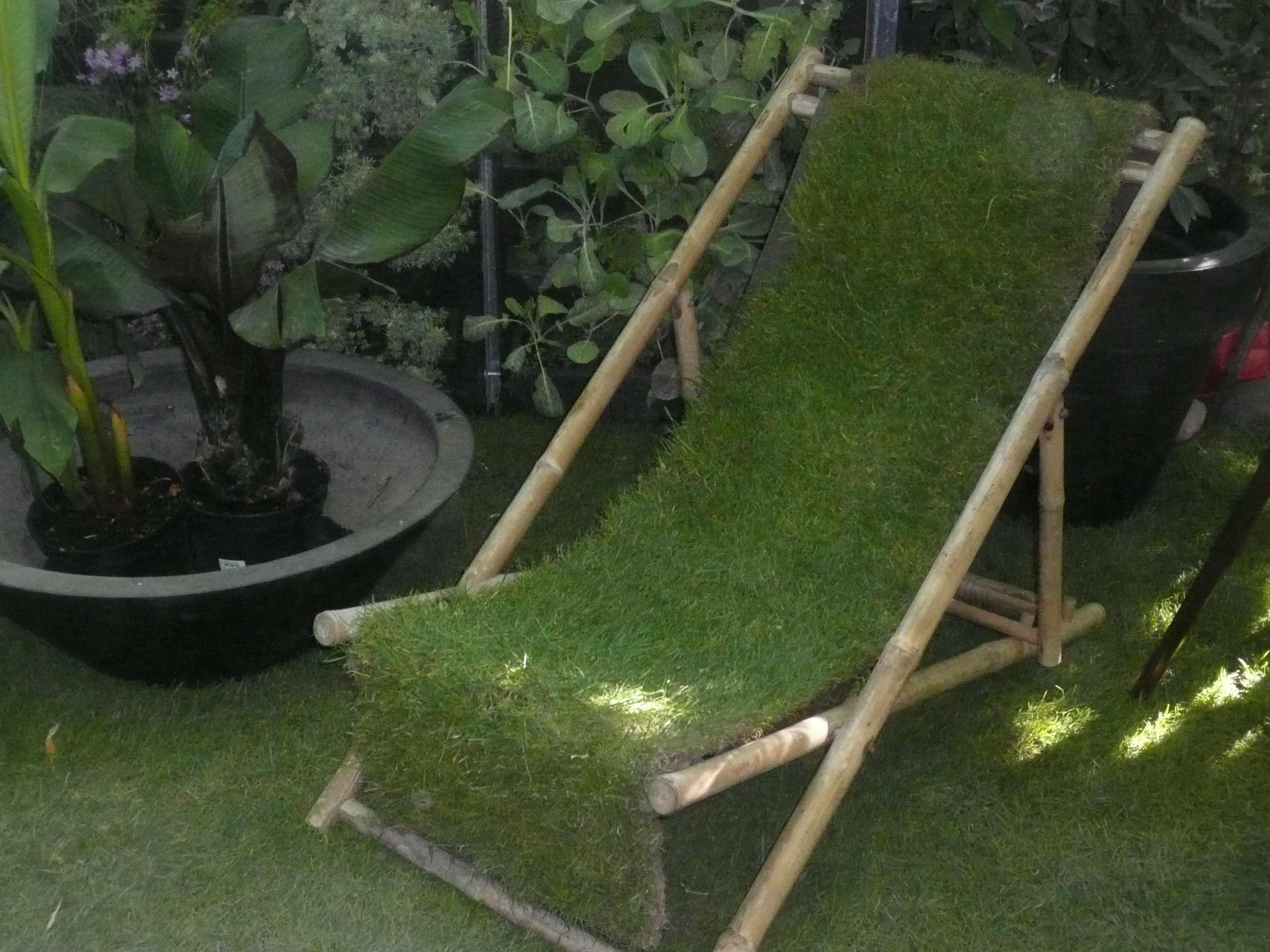 Tuileries, lors de l'exposition « jardins, jardin » de mai 2011