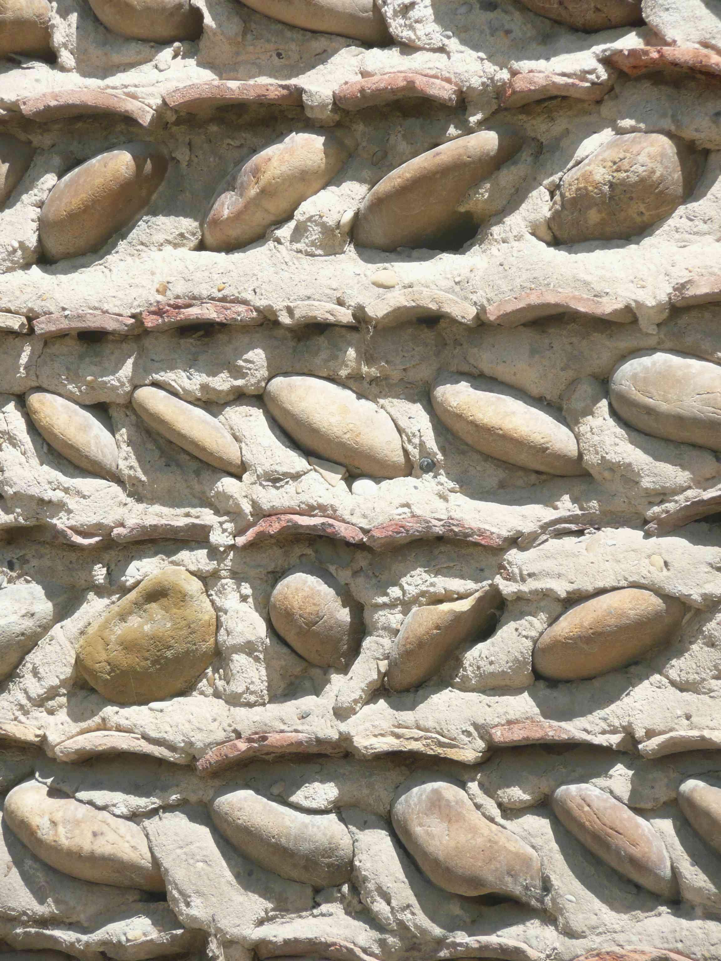 ... Moras En Valloire 2011 Mur Galets Et Tuiles V For Mur De Galet Exterieur  ...
