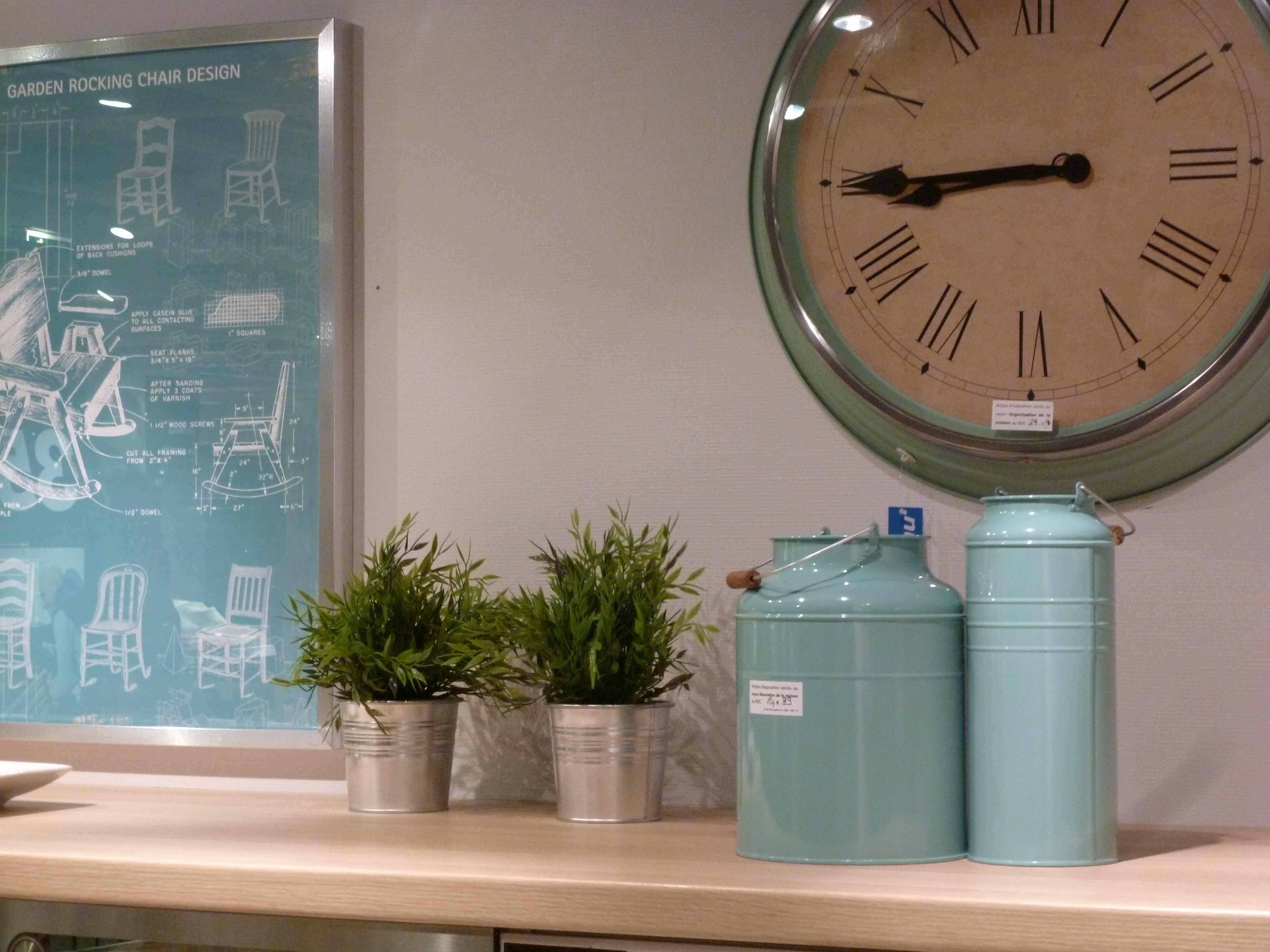Horloge tous les tages le blog for Ikea horloge