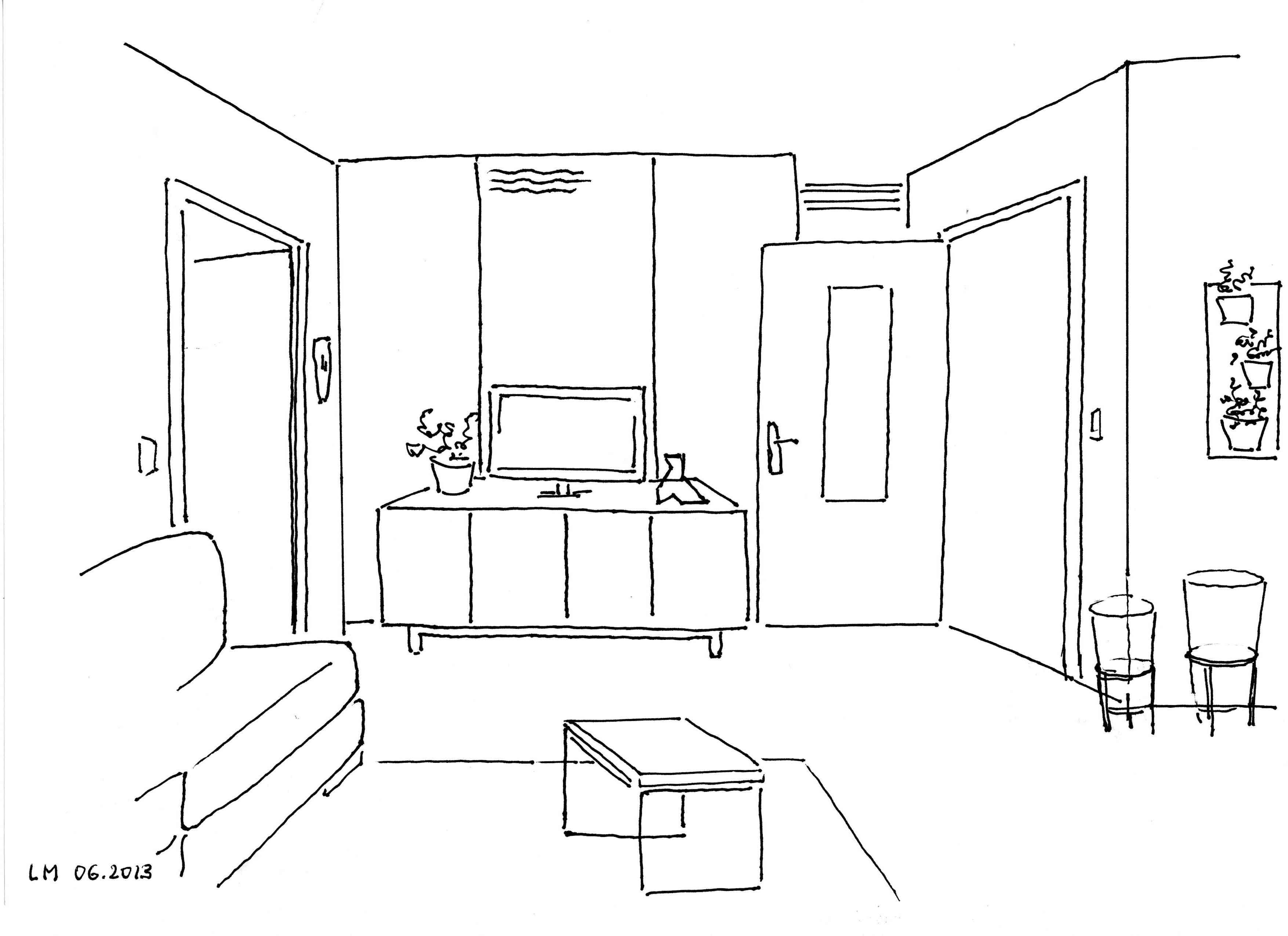S jour tous les tages le blog - Dessiner un meuble en perspective ...
