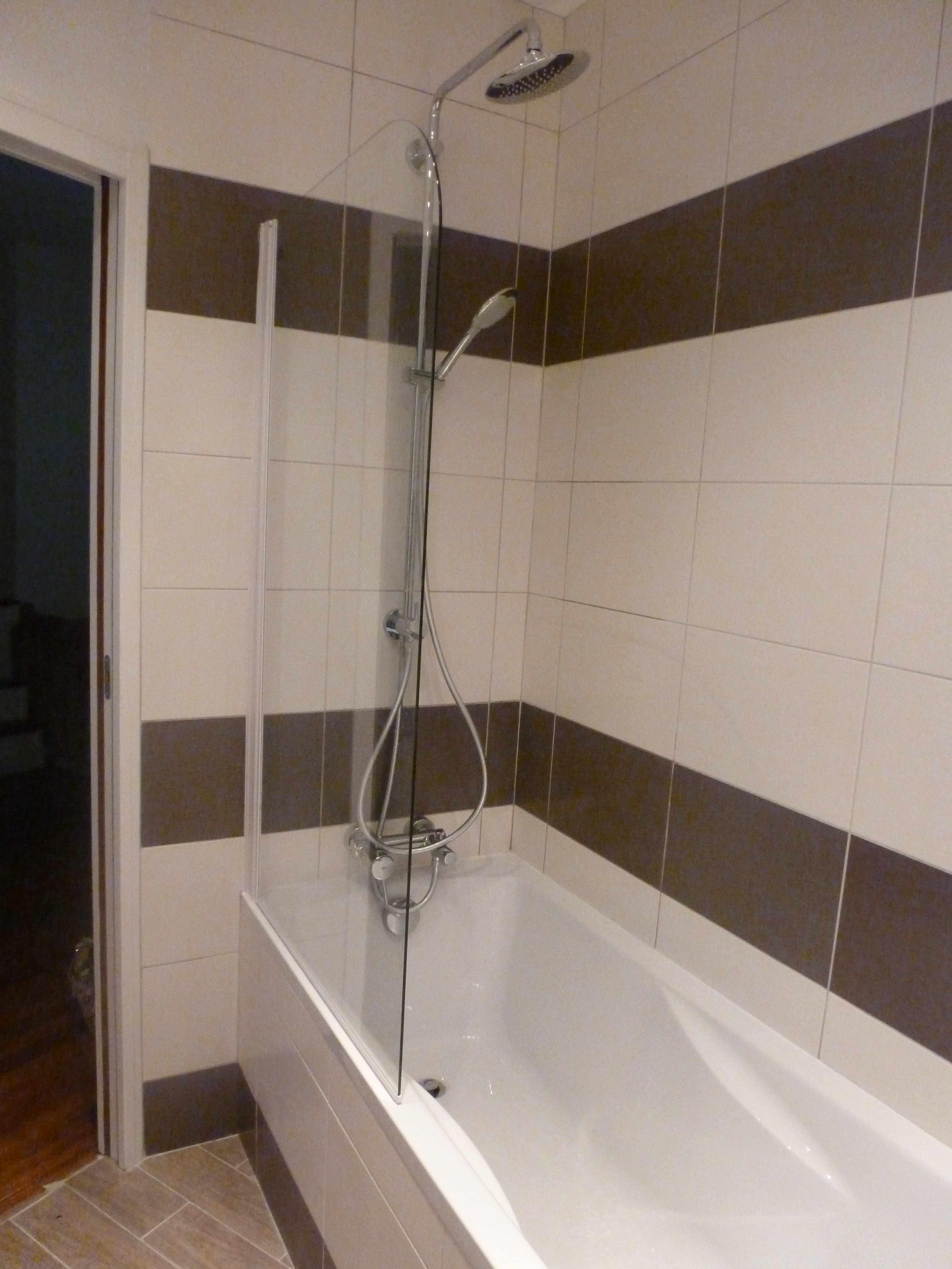 Naturel tous les tages le blog - Salle de bain chocolat et blanc ...