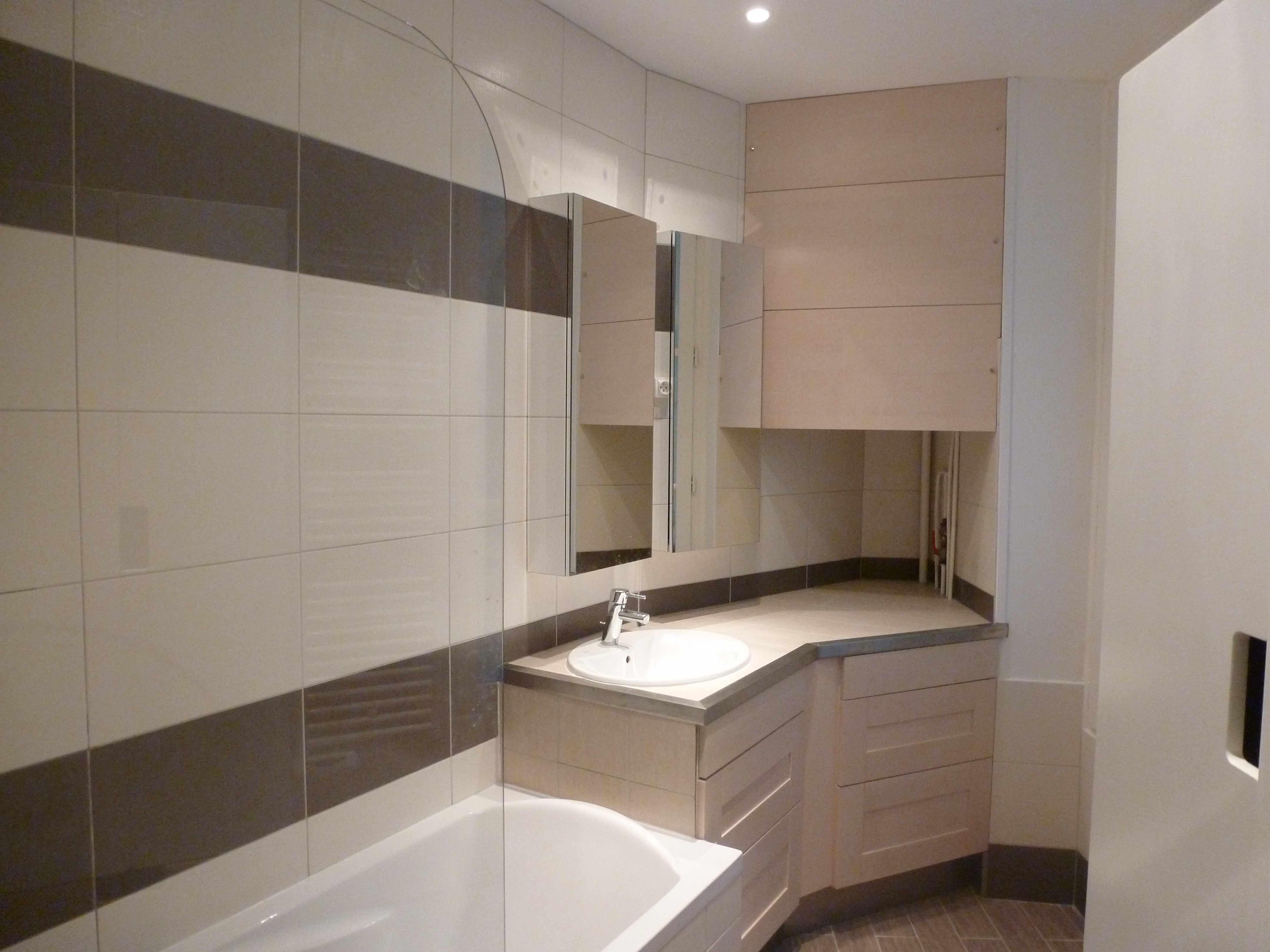 salle de bain paris apres travaux