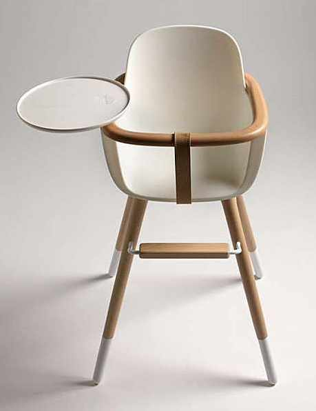 Chaise haute bois design images for Chaise haute design