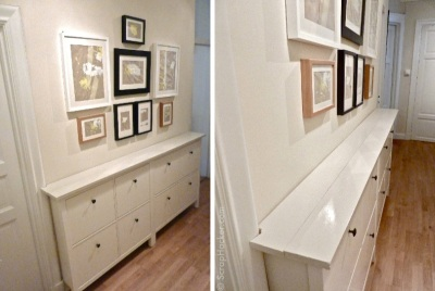 meuble couloir Hemnes Ikea Scrap-hacker