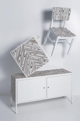 Sticker Domestic pour personnaliser meuble