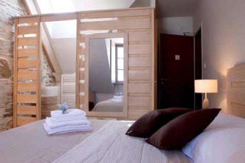 Pour ou contre la salle de bain ouverte sur la chambre for Cloison salle de bain