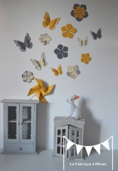 decorations-murales-stickers-papillons-et-fleurs-gris-La-fabrique-a-reves