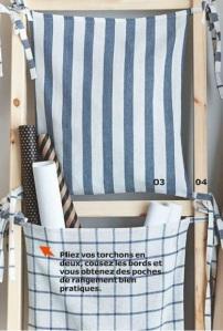 IKEA 2015 rangement cuisine avec torchons