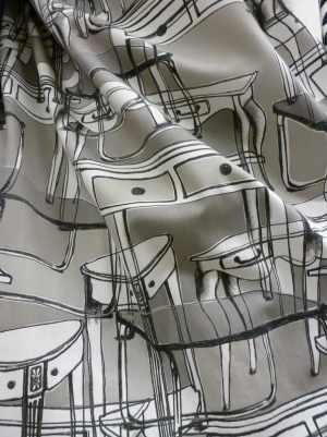 tissu motif meubles Angsfly Ikea 2014