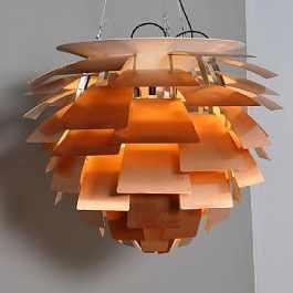 Arts d coratifs tous les tages le blog for Lampe pomme de pin