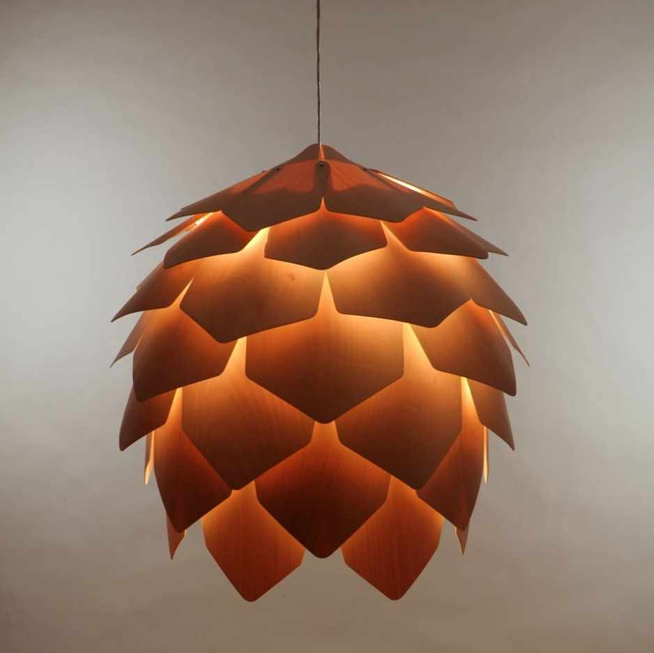 Salon maison objet tous les tages le blog for Lampe pomme de pin