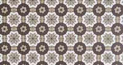 Papier-peint-des-annees-70-Erebos-brun
