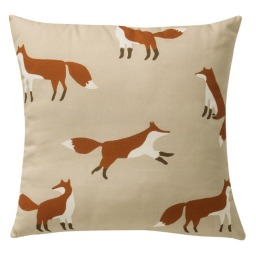 coussin renards Privium-fox El-Corte-Ingles