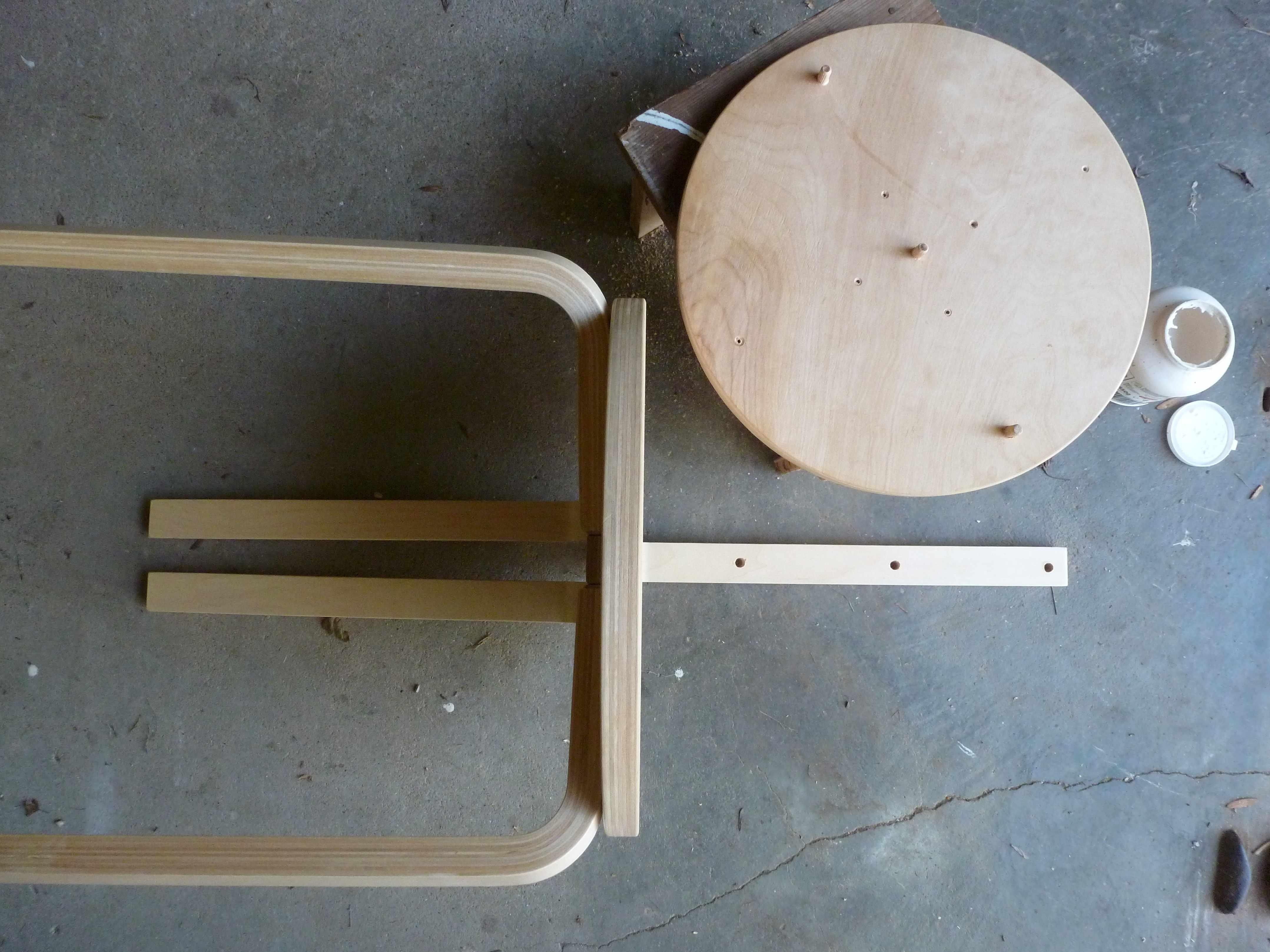 Console Ikea Bois Chaise Pop Detournement Tabouret Ikea Etape A Tous