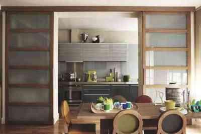 Pour ou contre la cuisine ouverte sur le s jour tous for Portes coulissantes cuisine ouverte