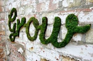 ecrire en mousse sur mur Sornasblog