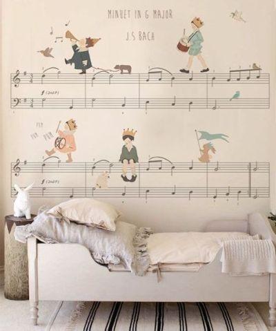 papier-peint-musique-enfant-Little-hands-via-Moody-s-home